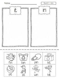 Short vowels freebie Flying into First Grade: NEW FREEBIE