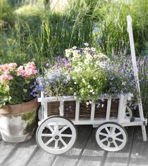 Deko Wohn Und Diy Blog White And Vin E Vintage Garden