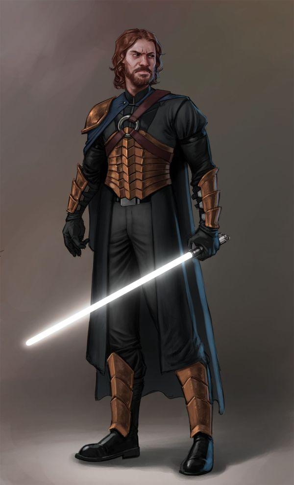 Star Wars Jedi Art Male Characters