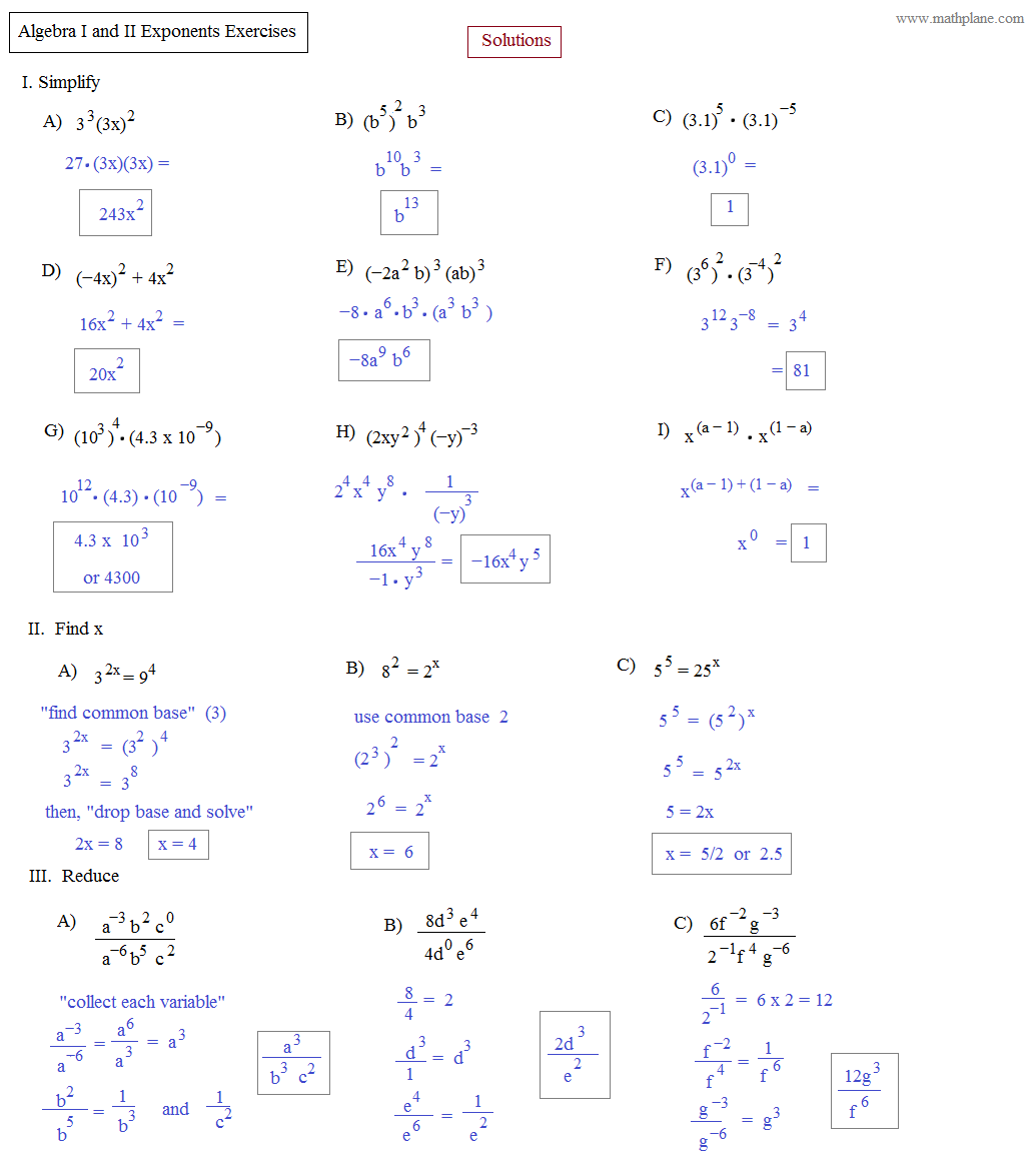 Math Plane Algebra Ii Preview