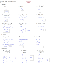 Practice Alg 2 Math Worksheets With Answers. Practice ...