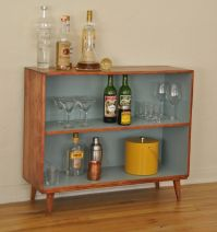 Mid Century Vintage Solid Wood Bookcase - love the painted ...