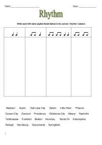 Music Theory: RHYTHM Worksheets | Elementary Music ...