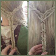 english accent braids hair