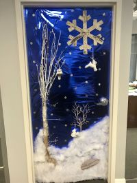 Winter Wonderland Decorating Ideas For School Office Staff