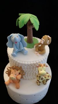 Cute Baby Animals, Jungle Animals Cake Toppers, Jungle ...
