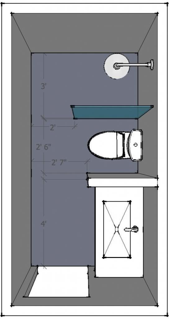 5 x 10 bathroom Layout help welcome  Small Bathroom Addition  Pinterest  Bathroom layout