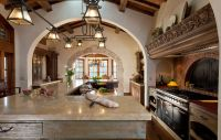 spanish colonial kitchens - A little dark, but love the ...