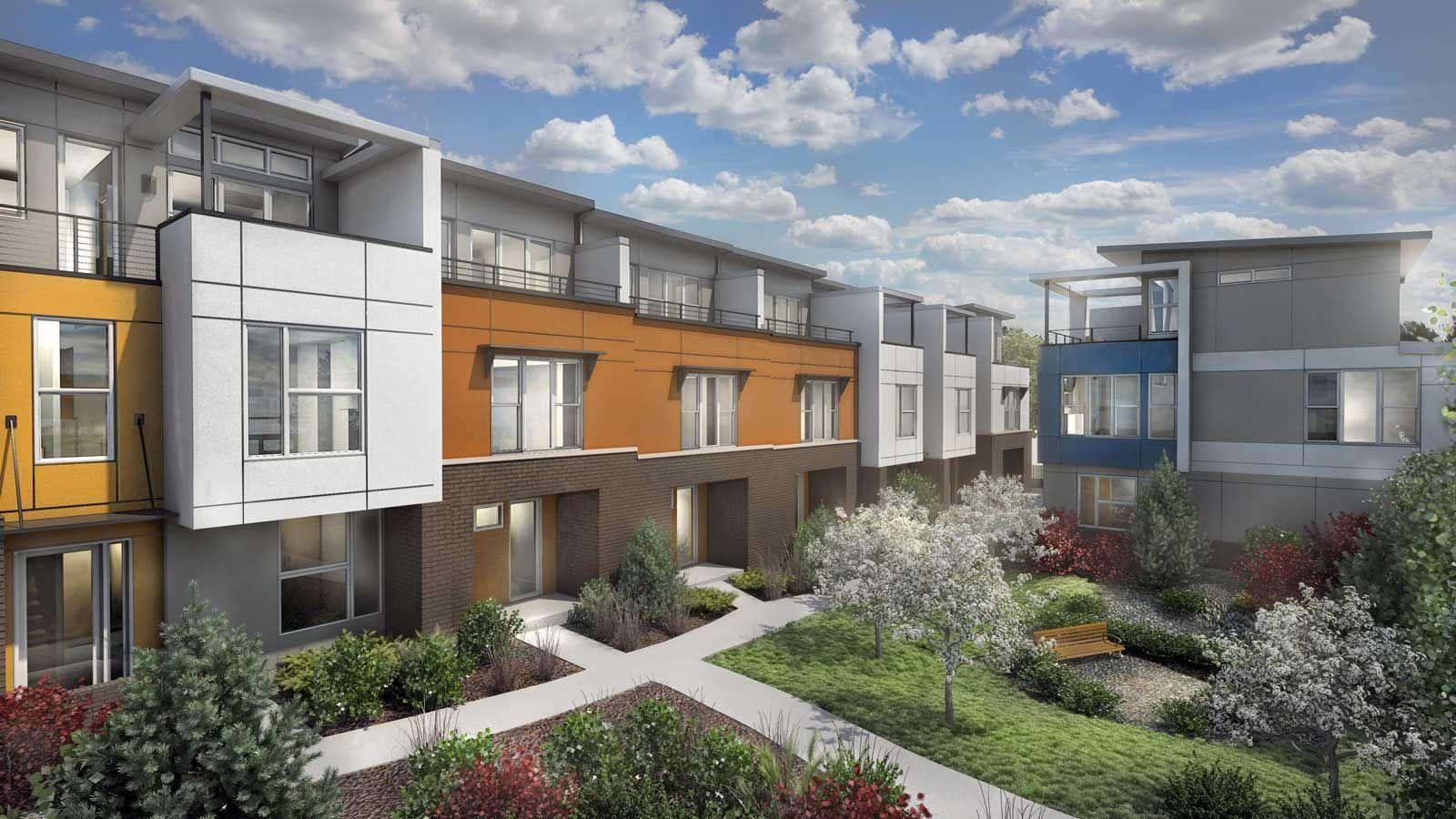 Wonderful Row House Color Ideas Part - 12: Row House Color Ideas