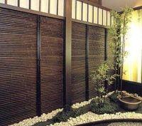 garden screens | Bamboo Garden, Deck Privacy Screens ...