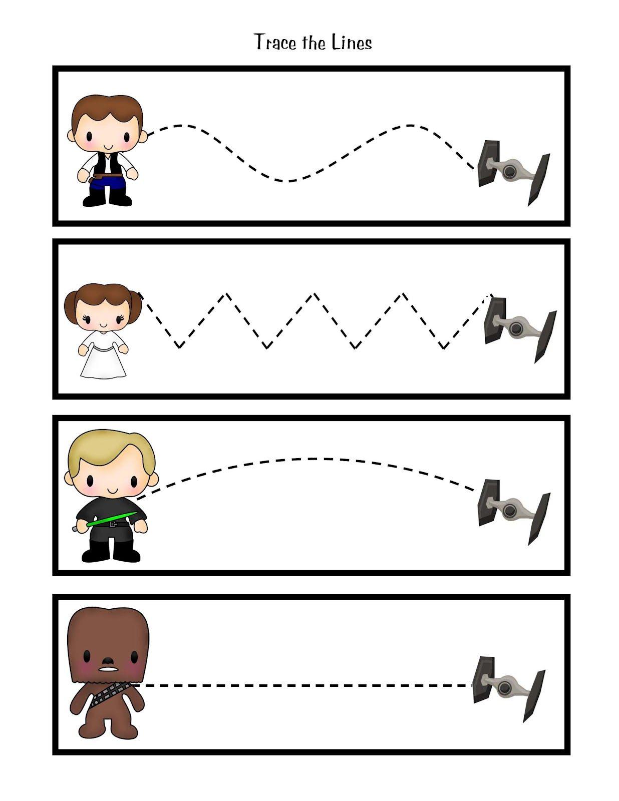 Preschool Printables Star Wars