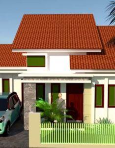 Desain rumah sederhana tipe dengan kamar full tamapak dan denah also rh in pinterest