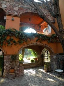 Mexican Hacienda Style Home Design
