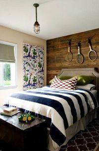 Bedroom, Headboard Ideas For Boys: Cool Boy Teenage