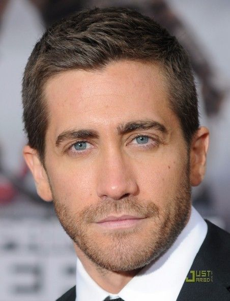 Jake Gyllenhaal Hairstyle Thick Hair Men Short Hairstyles And