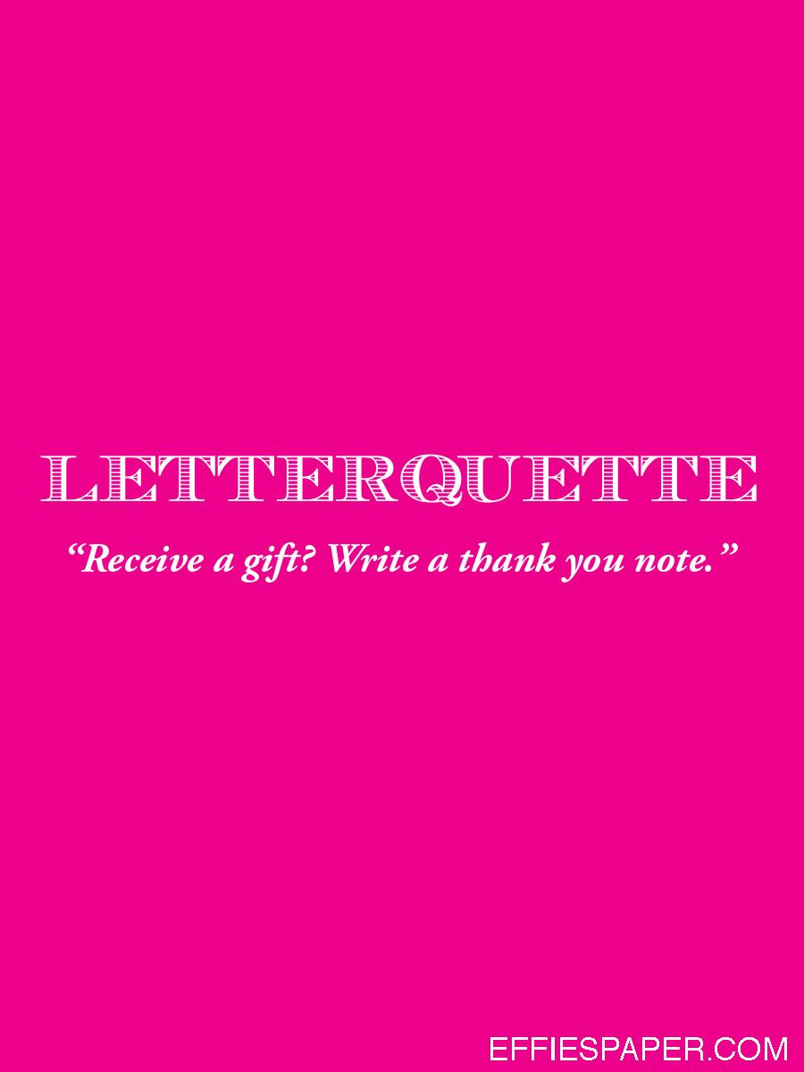 Don't Forget To Write Those Letters! Hand Write A Note Everytime Someone  Gives