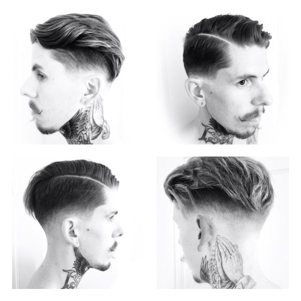 Modern Classic Men's Haircut Added By Joel Torres Feature Photos