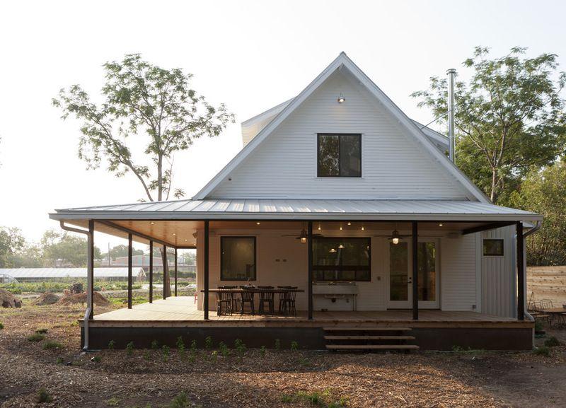 Link Love A Dreamy Farmhouse With City Style Wrap Around