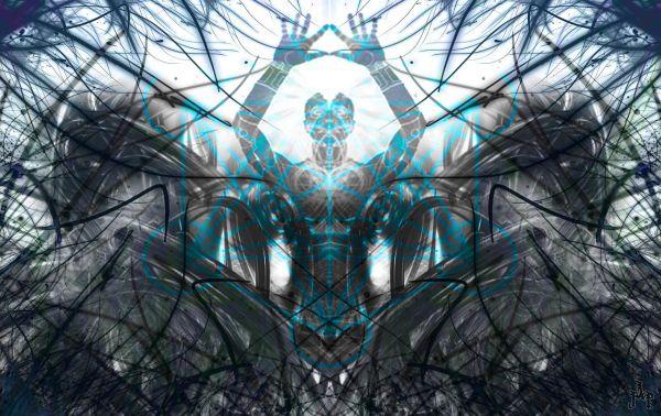Molecule Dmt Art Mantra