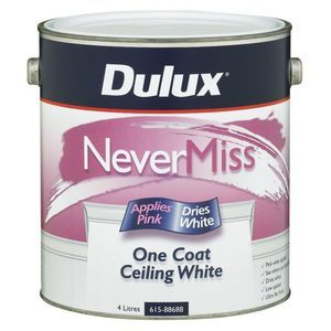 Dulux Pink White Ceiling Paint