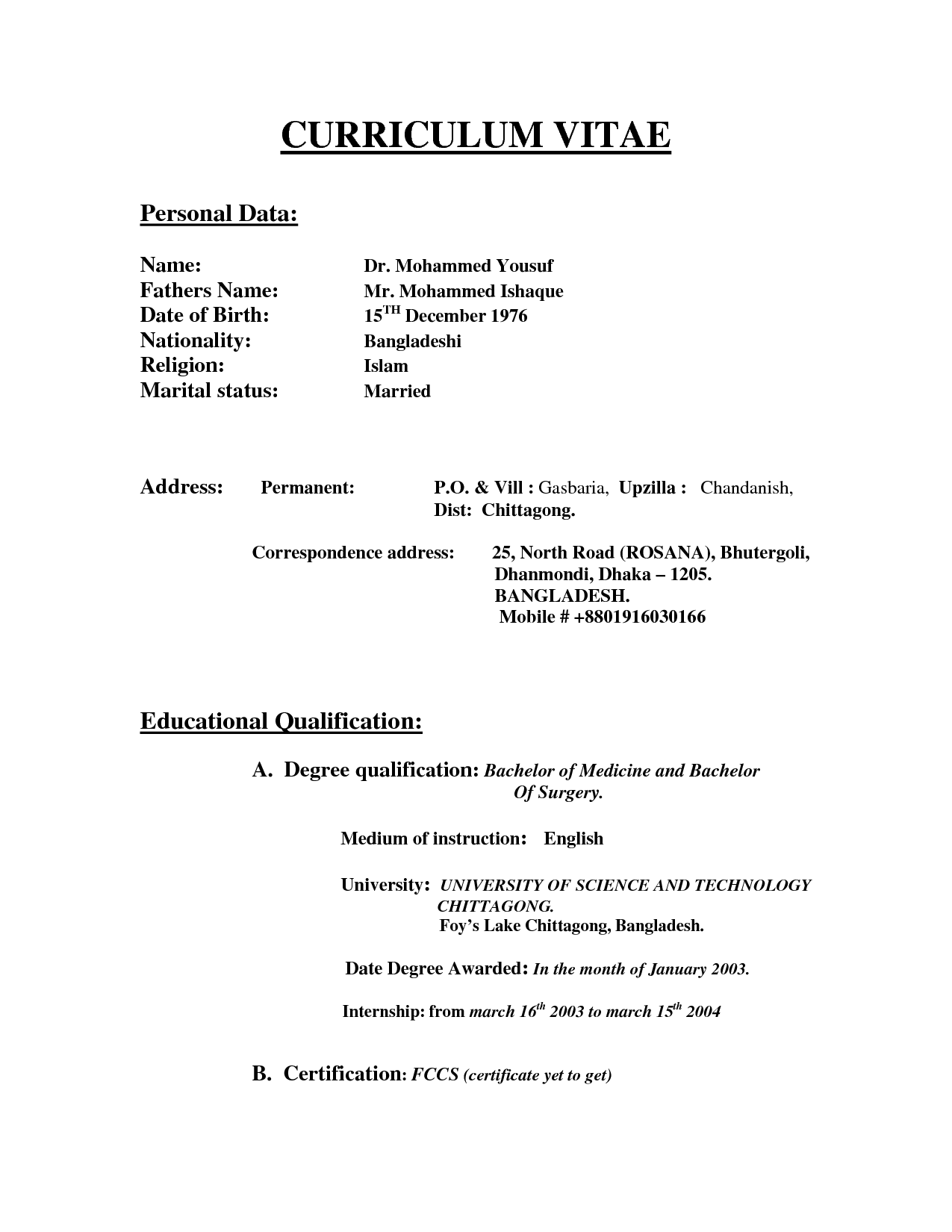 Accountant Resume Sample India Resume Format Free To Download Word  Templates Resume Builder Free Download