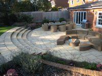 Garden patio ideas sloping garden, wooden gazebo plans uk