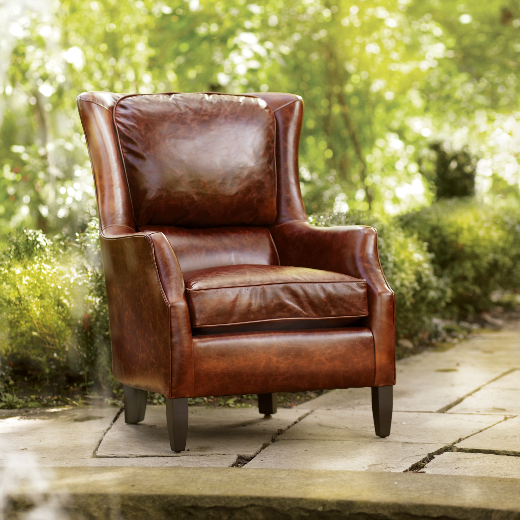 living room leather chairs carlisle dining brown chair arhaus