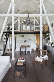 Tiny House with Loft Interior Design Ideas