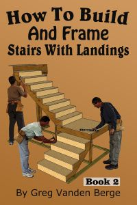 How To Build and Frame Stairs with Landings - YouTube ...