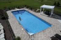 pool automatic cover rectangle | Completed Inground ...