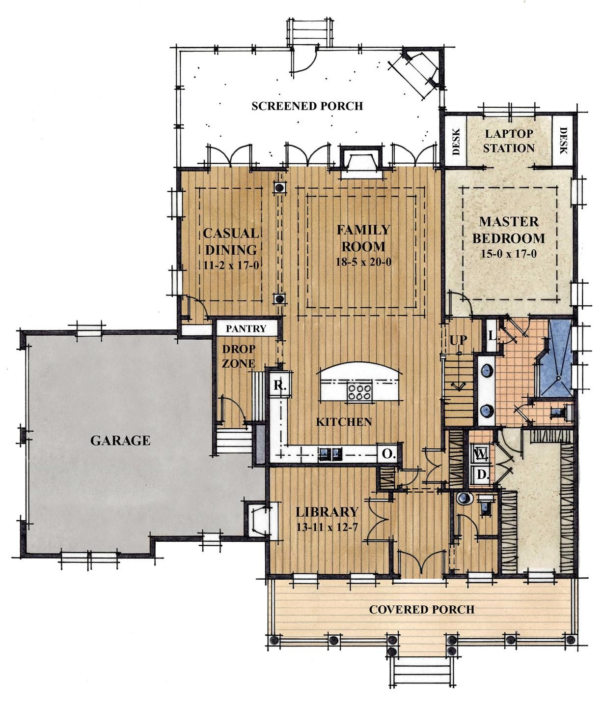 house plans without formal dining room  Google Search