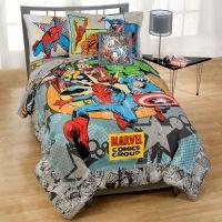 Marvel Vintage Comics Bedding In a Bag Set | Carter ...