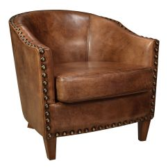 Buffalo Leather Chair Ergonomic Green Retro Vintage Inspired Renee Club Features