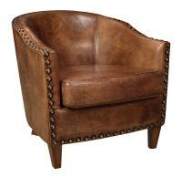 Retro-Vintage - Vintage inspired Renee Club Chair features ...