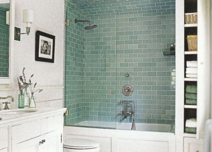 Bathroom double white toilet tub and shower tile ideas old grey wall paint closed closet color modern stainless steel faucet black metal scone lamp tiling  also witching small design with using green