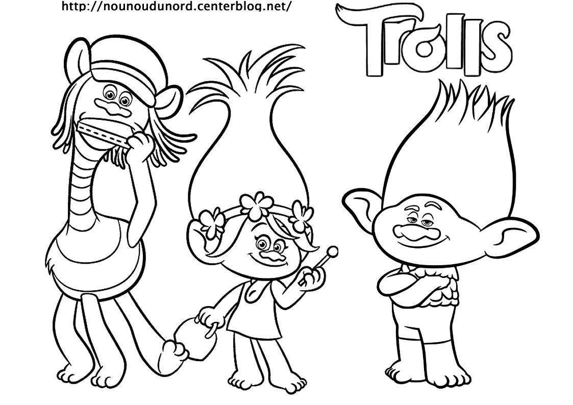 Les Trolls Coloriages Gommettes Invitations Anniversaire Etiquettes Cadeaux Masques Cliquez