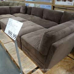 Costco Fabric Reclining Sofa How To Clean Sofas At Home Marks And Cohen Hayden 8 Piece Modular Sectional