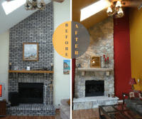 brick fireplace, Chicago fireplace, fireplace design ...