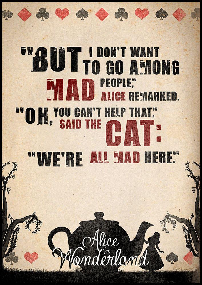 Adventures Quotes Wonderland Alices