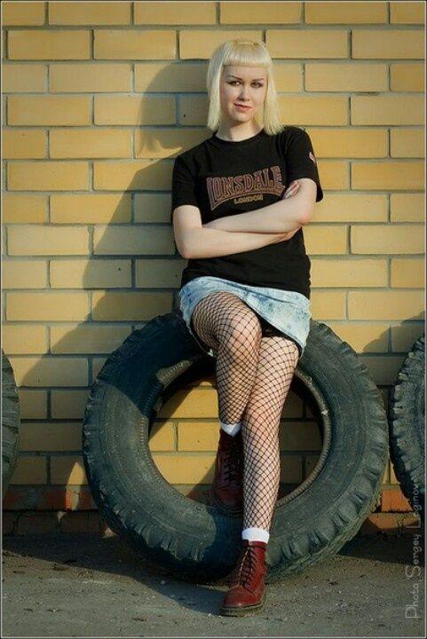Skinhead Girl Skinhead Culture Pinterest