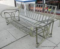Vintage 1940s Salterini Wrought Iron Swinging Porch ...