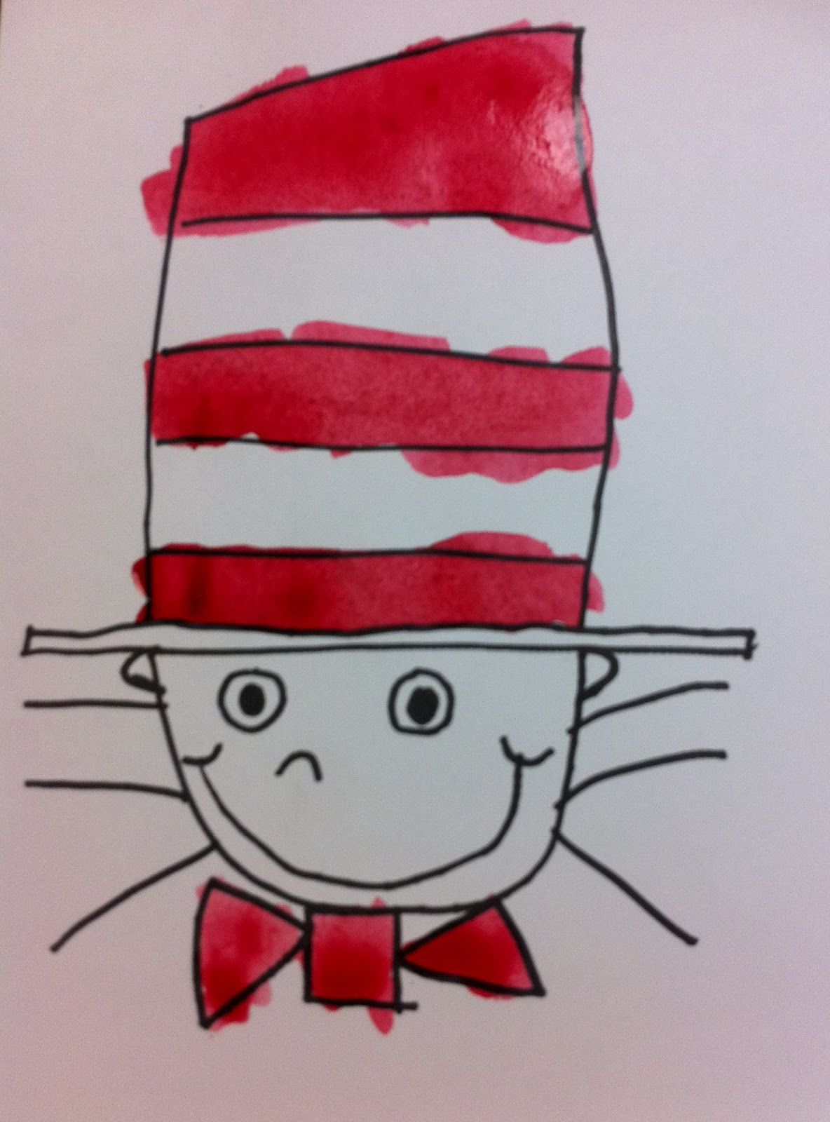 Another Way To Draw The Cat In The Hat