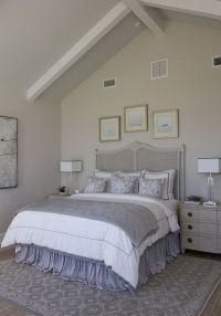 Wall paint color is Benjamin Moore Light Pewter. Ceiling ...