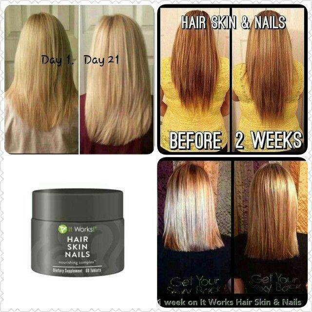 It Works Hair Skin And Nails Vitamins - Best Skin In The Word 2018
