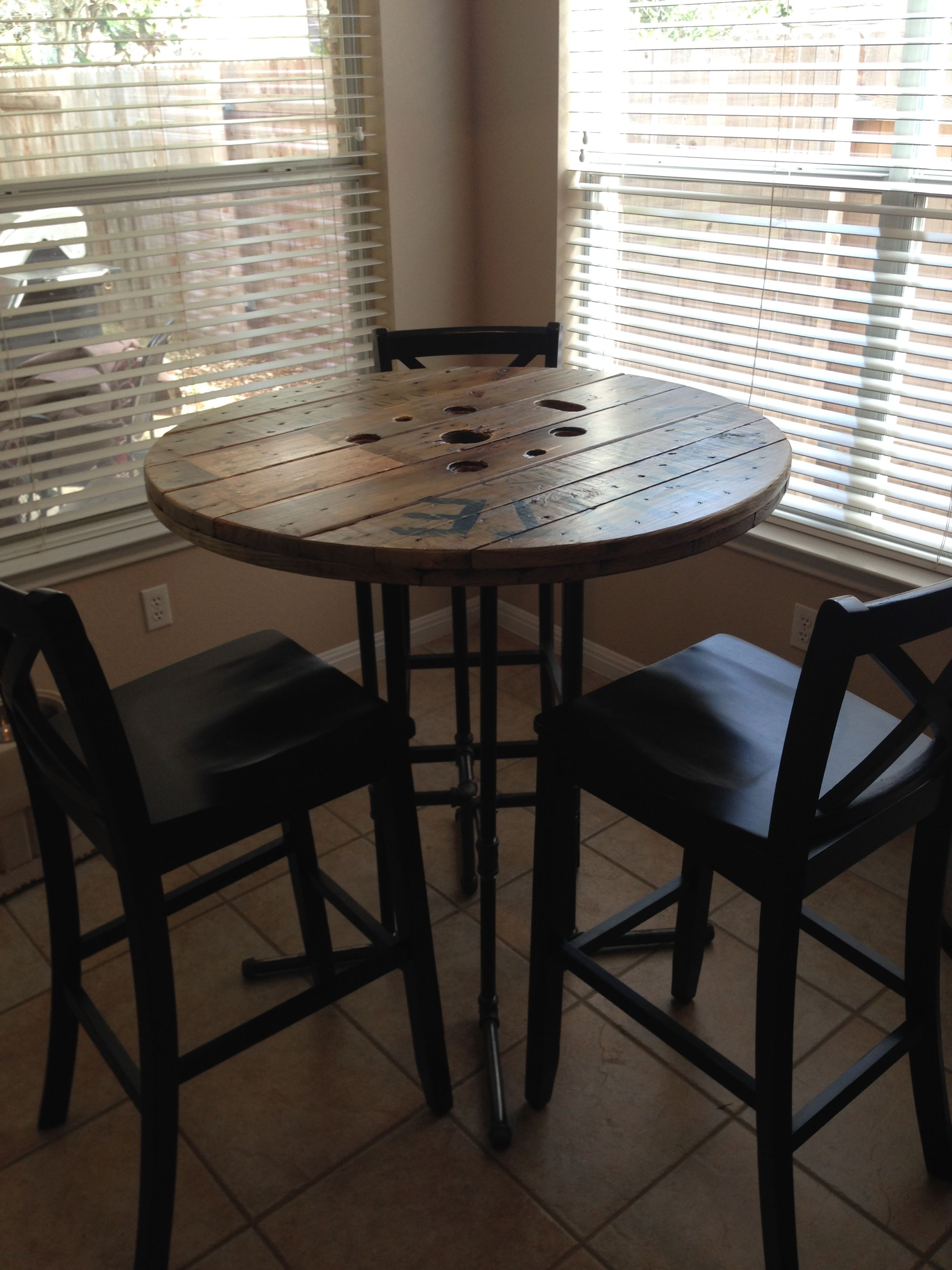 High Top Round Kitchen Table