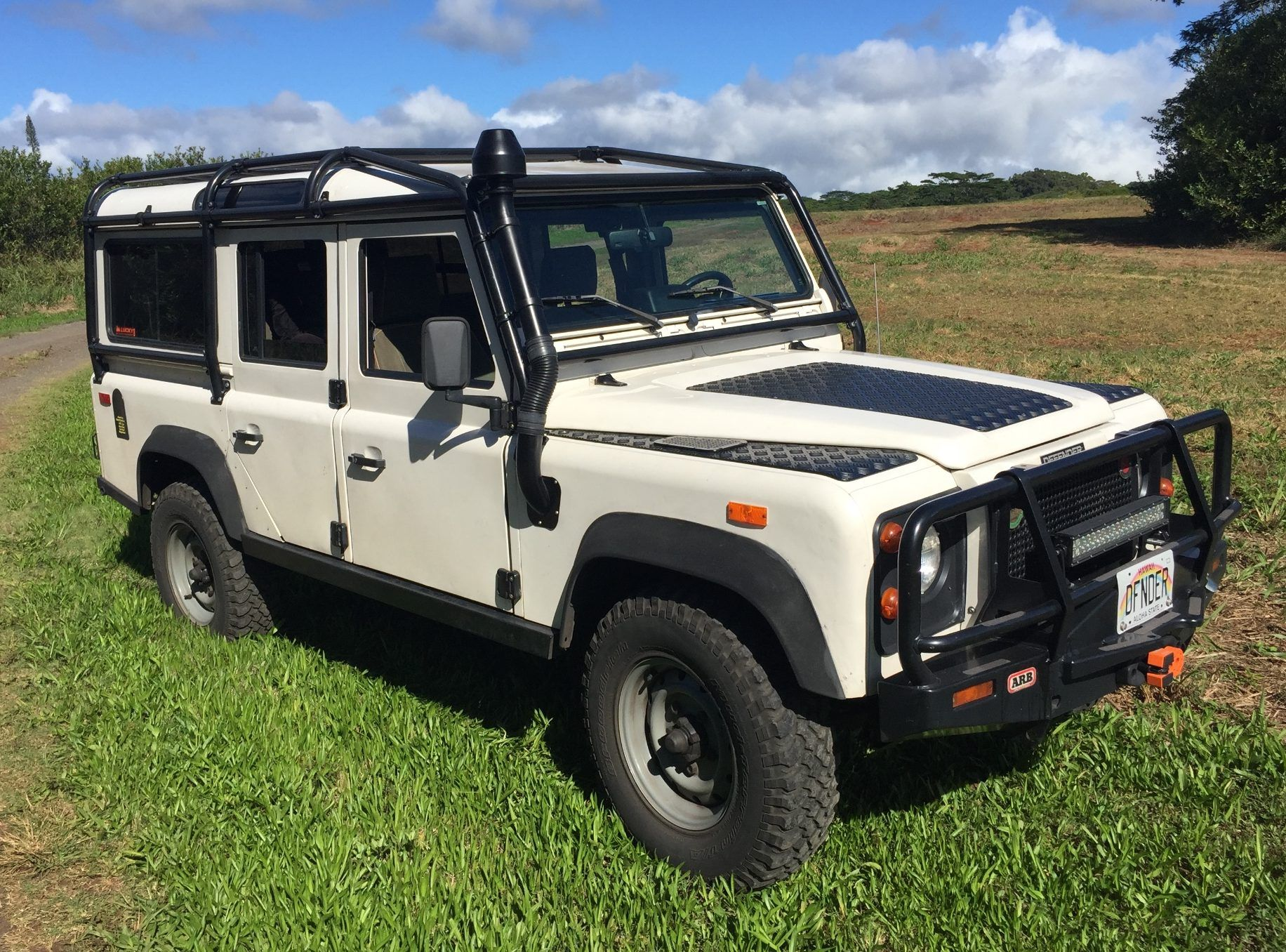 1993 Land Rover Defender 110 NAS Bring a Trailer
