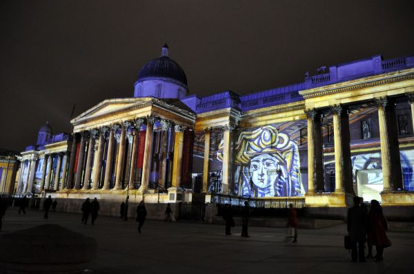 National Picasso Projection 3d Video Mapping