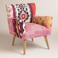 Mixed Print Etta Chair | Feminine, World and Bohemian