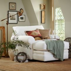 Comfortable Reading Chair Small Space Acrylic Side With Cushion Newton Chaise Rolled Arms A Loose Back Pillow And