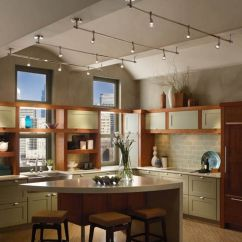 Kitchen Chandelier Lighting Small Table Best 25 43 Track Ideas On Pinterest
